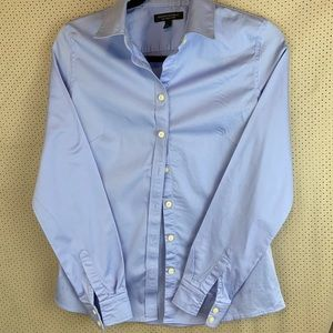 Banana Republic non iron light blue shirt
